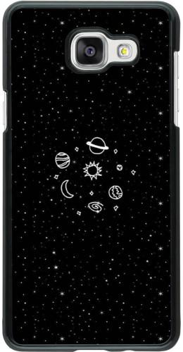Coque Samsung Galaxy A5 (2016) - Space Doodle
