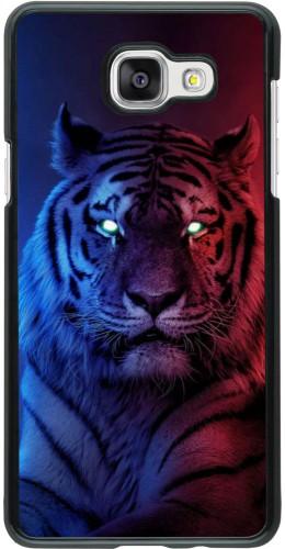 Coque Samsung Galaxy A5 (2016) - Tiger Blue Red