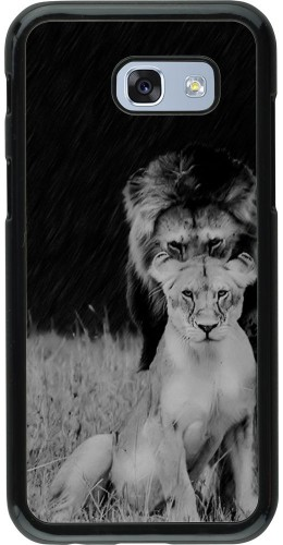 Coque Samsung Galaxy A5 (2017) - Angry lions