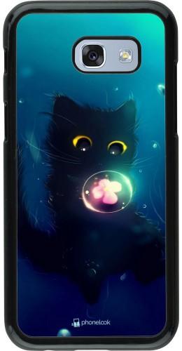 Coque Samsung Galaxy A5 (2017) - Cute Cat Bubble