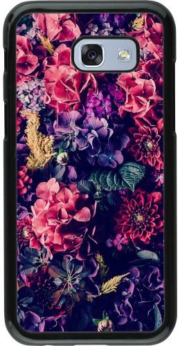 Coque Samsung Galaxy A5 (2017) - Flowers Dark