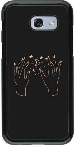 Coque Samsung Galaxy A5 (2017) - Grey magic hands