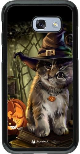 Coque Samsung Galaxy A5 (2017) - Halloween 21 Witch cat