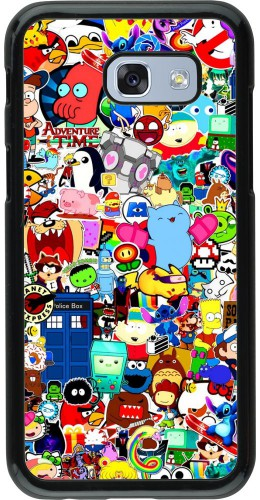 Coque Samsung Galaxy A5 (2017) - Mixed cartoons