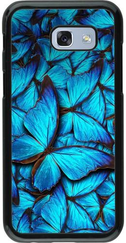 Coque Galaxy A5 (2017) - Papillon bleu