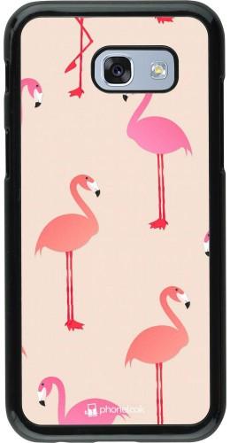 Coque Samsung Galaxy A5 (2017) - Pink Flamingos Pattern