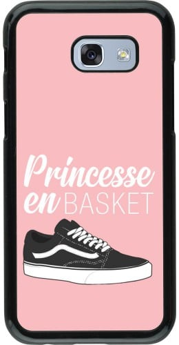 Coque Samsung Galaxy A5 (2017) - princesse en basket