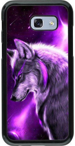 Coque Samsung Galaxy A5 (2017) - Purple Sky Wolf
