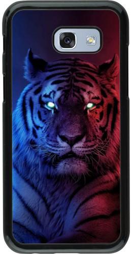 Coque Samsung Galaxy A5 (2017) - Tiger Blue Red