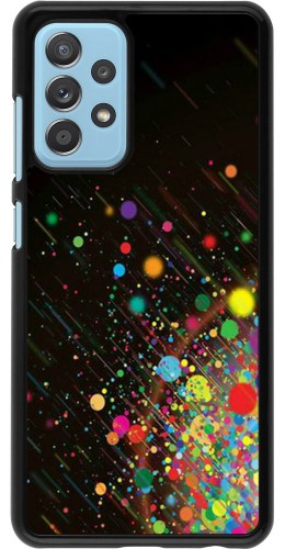 Coque Samsung Galaxy A52 5G - Abstract Bubble Lines