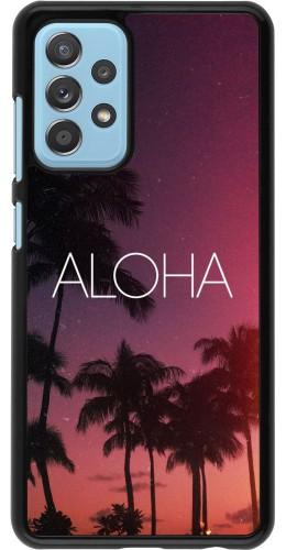Coque Samsung Galaxy A52 5G - Aloha Sunset Palms