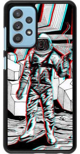 Coque Samsung Galaxy A52 5G - Anaglyph Astronaut