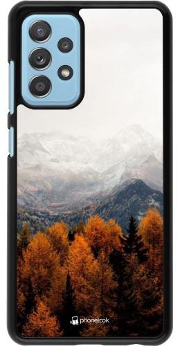 Coque Samsung Galaxy A52 - Autumn 21 Forest Mountain