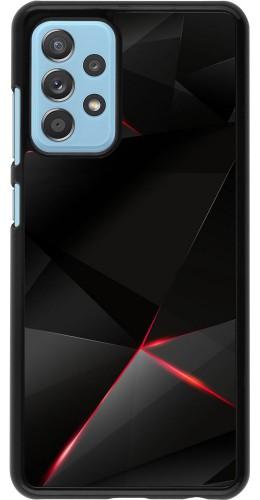 Coque Samsung Galaxy A52 5G - Black Red Lines