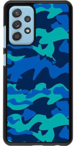 Coque Samsung Galaxy A52 - Camo Blue