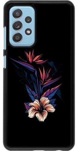 Coque Samsung Galaxy A52 5G - Dark Flowers