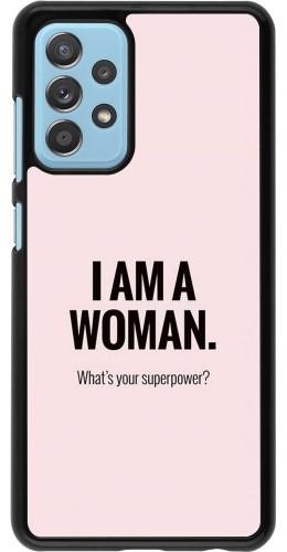 Coque Samsung Galaxy A52 5G - I am a woman