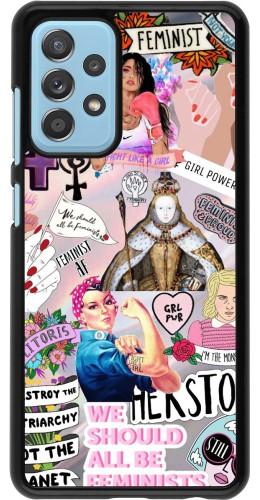 Coque Samsung Galaxy A52 5G - Girl Power Collage