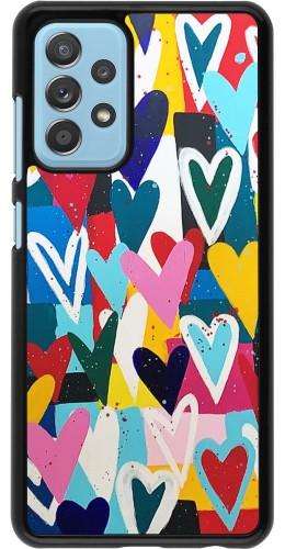 Coque Samsung Galaxy A52 5G - Joyful Hearts