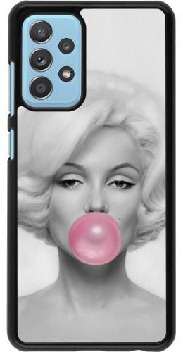 Coque Samsung Galaxy A52 5G - Marilyn Bubble