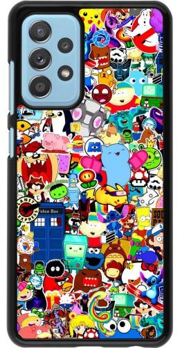 Coque Samsung Galaxy A52 5G - Mixed cartoons