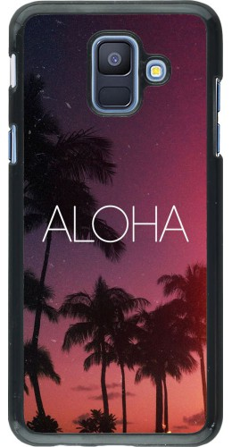 Coque Samsung Galaxy A6 - Aloha Sunset Palms