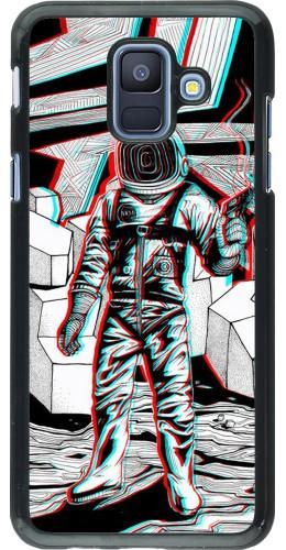 Coque Samsung Galaxy A6 - Anaglyph Astronaut