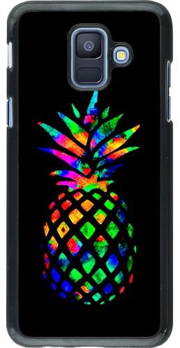 Coque Samsung Galaxy A6 - Ananas Multi-colors