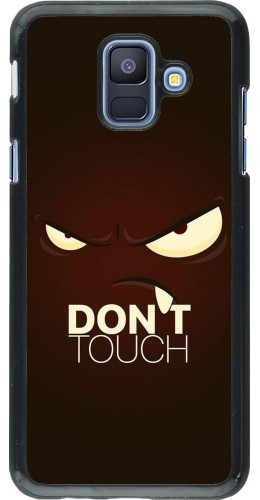 Coque Samsung Galaxy A6 - Angry Dont Touch