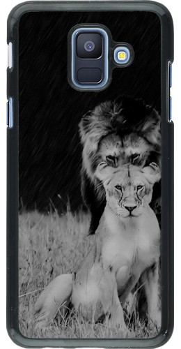Coque Samsung Galaxy A6 - Angry lions