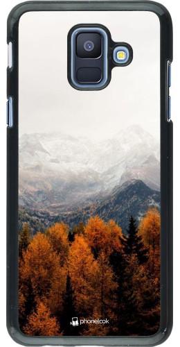 Coque Samsung Galaxy A6 - Autumn 21 Forest Mountain