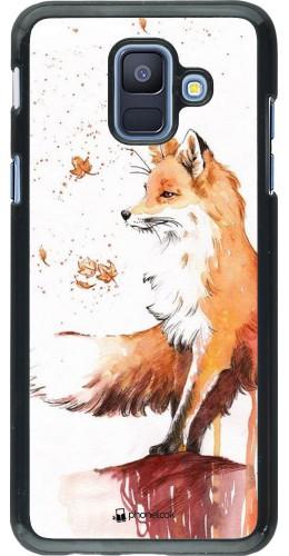 Coque Samsung Galaxy A6 - Autumn 21 Fox