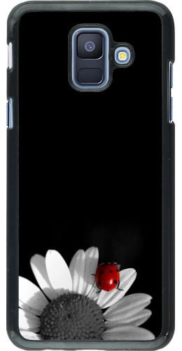 Coque Samsung Galaxy A6 - Black and white Cox