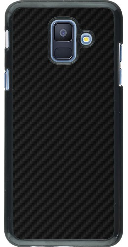 Coque Samsung Galaxy A6 - Carbon Basic