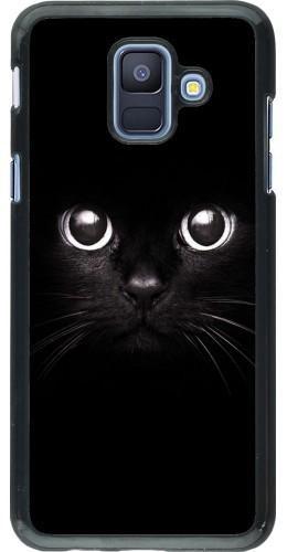 Coque Samsung Galaxy A6 - Cat eyes