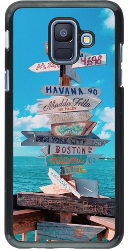 Coque Samsung Galaxy A6 - Cool Cities Directions