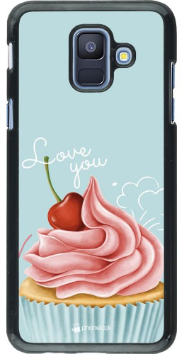 Coque Samsung Galaxy A6 - Cupcake Love You