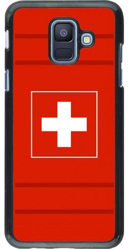 Coque Samsung Galaxy A6 - Euro 2020 Switzerland