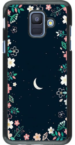 Coque Samsung Galaxy A6 - Flowers space