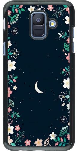 Coque Samsung Galaxy A6 - Flowers space