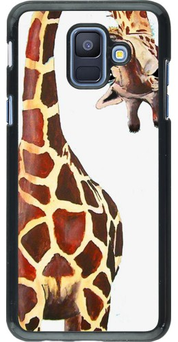 Coque Samsung Galaxy A6 - Giraffe Fit