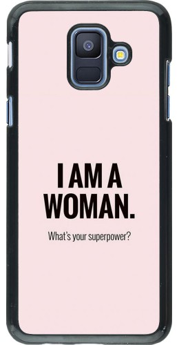 Coque Samsung Galaxy A6 - I am a woman