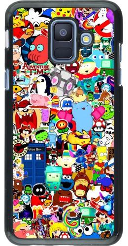 Coque Samsung Galaxy A6 - Mixed cartoons