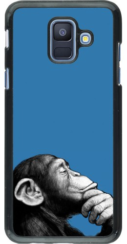Coque Samsung Galaxy A6 - Monkey Pop Art