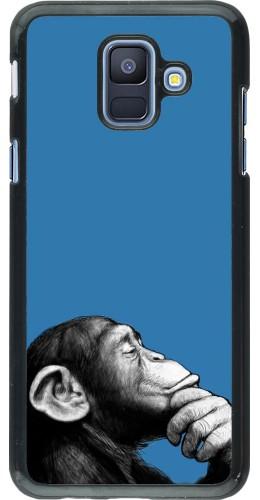 Coque Samsung Galaxy A6 - Monkey Pop Art