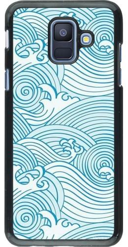 Coque Samsung Galaxy A6 - Ocean Waves