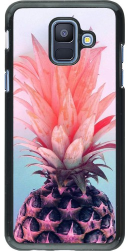 Coque Samsung Galaxy A6 - Purple Pink Pineapple
