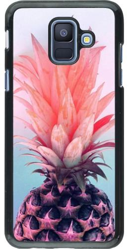 Coque Samsung Galaxy A6 - Purple Pink Pineapple