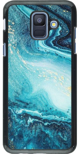 Coque Samsung Galaxy A6 - Sea Foam Blue