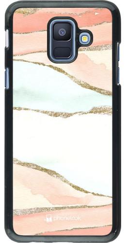 Coque Samsung Galaxy A6 - Shimmering Orange